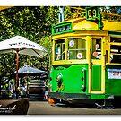 Melbourne Skyline #6 by James Millward