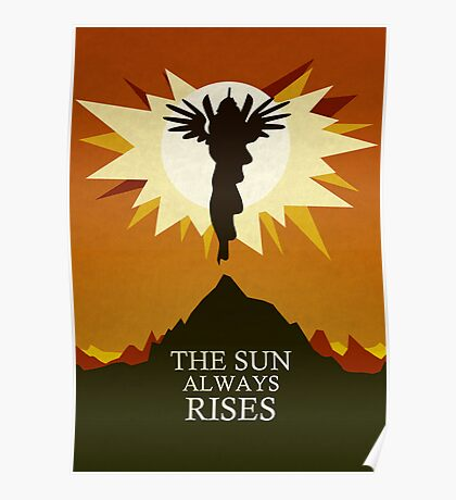 The Sun Always Rises - Princess Celestia Print Poster