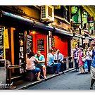 Melbourne Skyline #10 by James Millward