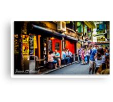 Melbourne Skyline #10 Canvas Print