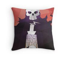 Madness Through Order - Soul Eater Print Throw Pillow