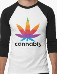 CANNABIS LEAF Men's Baseball ¾ T-Shirt