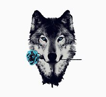 Wolf With a Rose Unisex T-Shirt