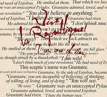 Grantaire Quotes + Vive la République by lsabriinar