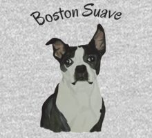Boston Terrier Suave One Piece - Short Sleeve