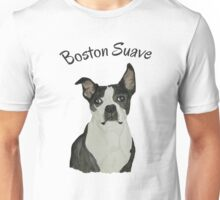 Boston Terrier Suave Unisex T-Shirt