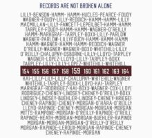 Records Are Not Broken Alone by seeaykay