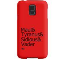 Darth & Darth & Darth & Darth Samsung Galaxy Case/Skin