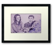 What Happened at Band Camp Framed Print