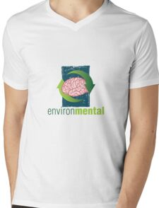 EnvironMental — Renewal Grunge Mens V-Neck T-Shirt