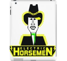 Electric Horsemen (Vintage 4) iPad Case/Skin