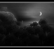 ©DAThe Coastal Broccoli I-A Monochrome by OmarHernandez