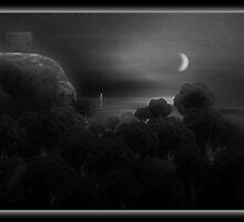©DAThe Coastal Broccoli I-A Monochrome by OmarHernandez