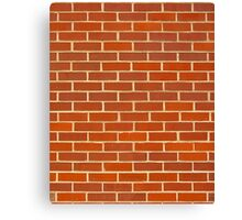 Bricks! Canvas Print
