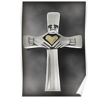 ✿♥‿♥✿ FOR THE LOVE OF US ALL HIS SACRAFICE (CROSS) PICTURE/CARD✿♥‿♥✿ Poster