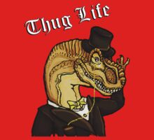 Thug Life Dinosaur One Piece - Long Sleeve