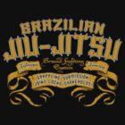 Brazilian Jiu Jitsu by LicensedThreads