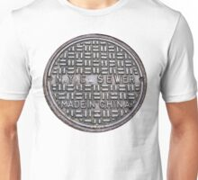 NYC SEWER MADE IN CHINA Unisex T-Shirt