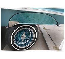 Impala #1 Drivers Rear Panel; Norwalk Elks 12th Annual Car Show; Norwalk, CA USA Poster