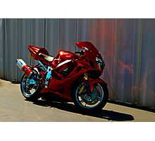 Shinny Bike Photographic Print