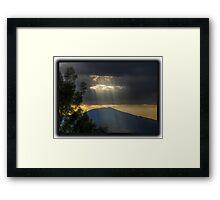 ©HCS Ray Of Life III Framed Print