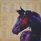 'Fire in stall 66' by Cat Leonard