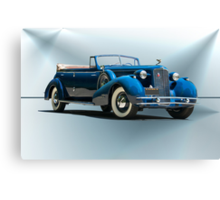 1934 Cadillac Convertible Sedan II Canvas Print