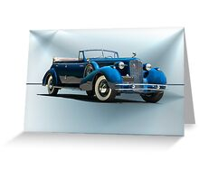 1934 Cadillac Convertible Sedan II Greeting Card