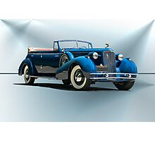 1934 Cadillac Convertible Sedan II Photographic Print