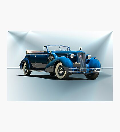 1934 Cadillac Convertible Sedan II Photographic Print