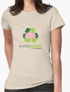 EnvironMental — Recycle Boys Womens Fitted T-Shirt