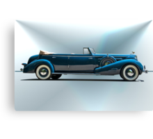 1934 Cadillac Convertible Sedan I Canvas Print
