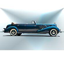 1934 Cadillac Convertible Sedan I Photographic Print