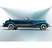 1934 Cadillac Convertible Sedan I Photographic Print