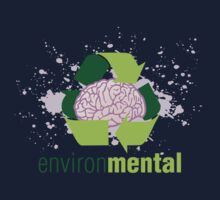 EnvironMental — Recycle Girls Kids Tee