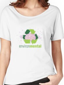EnvironMental — Recycle Girls Women's Relaxed Fit T-Shirt