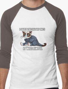 Commander Grumpy Men's Baseball ¾ T-Shirt