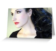 Kissed by the Light - Self Portrait Greeting Card