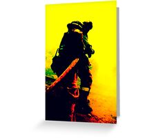 Fighters of Fire Greeting Card