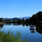 Tweed River Murwillumbah by Noel Elliot