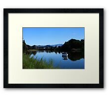 Tweed River Murwillumbah Framed Print