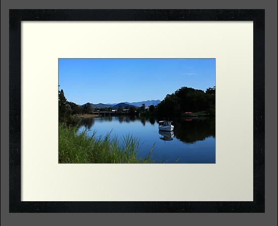 Tweed River Murwillumbah by Noel Elliot