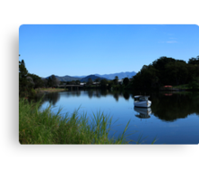 Tweed River Murwillumbah Canvas Print