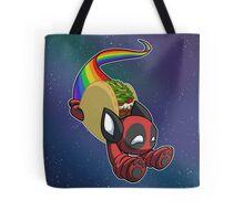 Nyan Deadpool Taco Cat Tote Bag