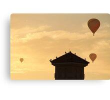 Hot Air Ballon x3 Canvas Print
