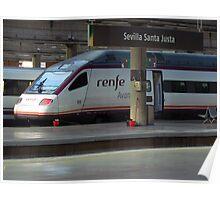 Sevilla Santa Justa Poster
