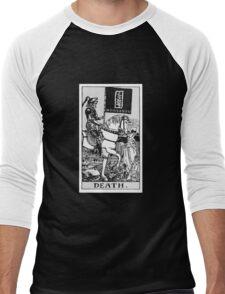 Death By Monsanto Tarot Card Men's Baseball ¾ T-Shirt