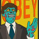 OBEY by JazzberryBlue