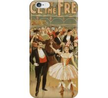 Vintage poster - Fanny Rice at the French iPhone Case/Skin