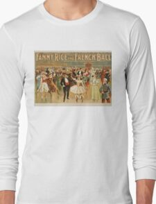 Vintage poster - Fanny Rice at the French Long Sleeve T-Shirt
